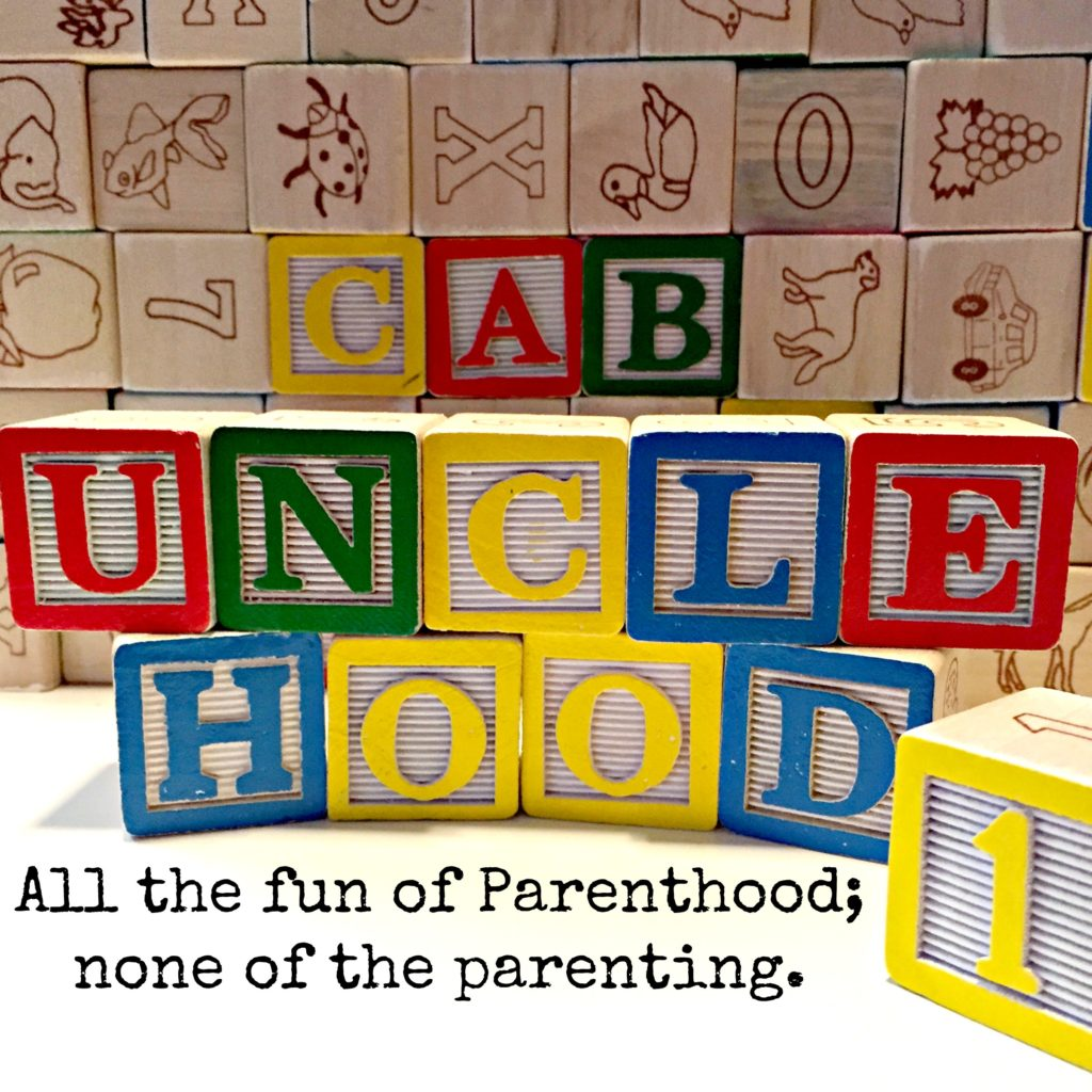 kids blocks spell out unclehood