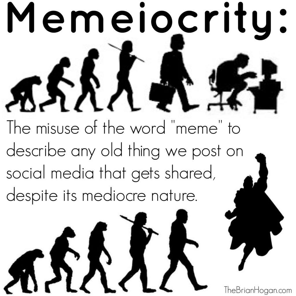 evolving men cartoon