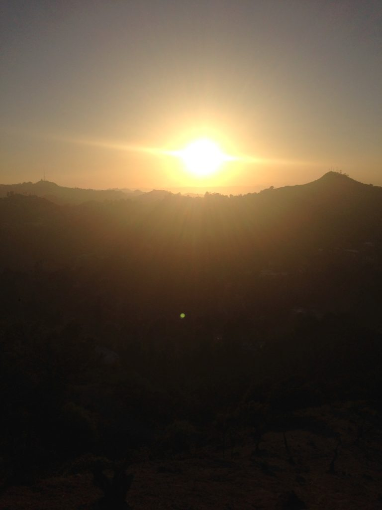 a Cali Sunset